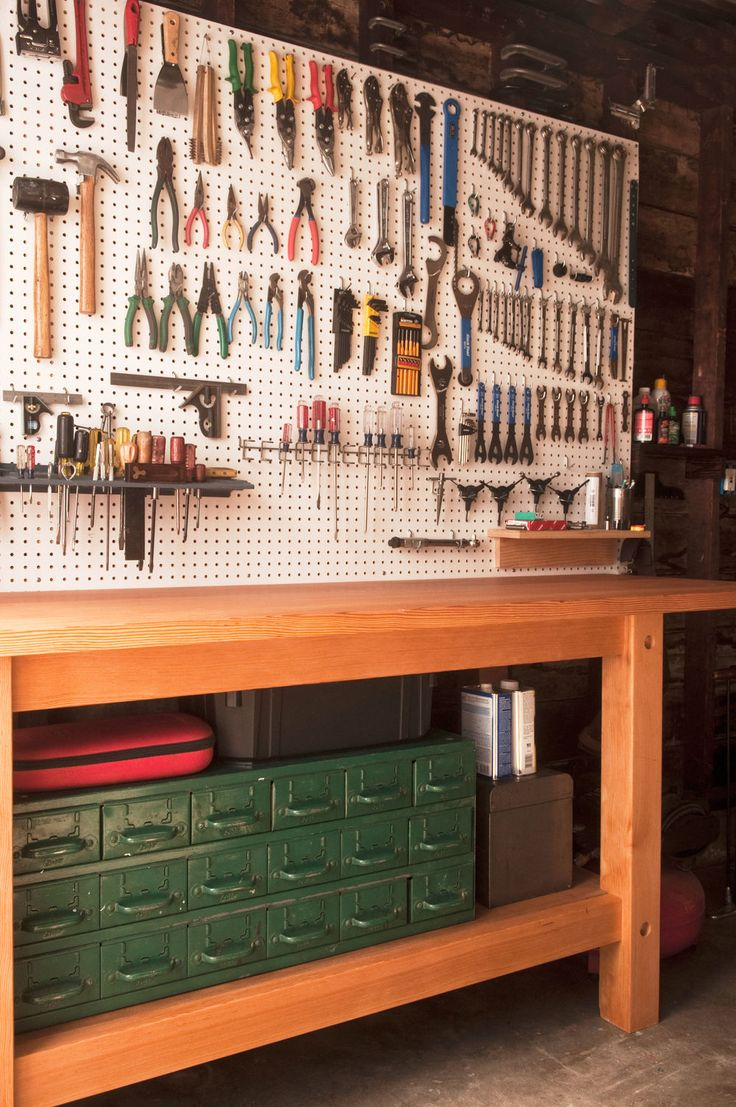 All You Need To Know About Garage Workbenches :: YardYum - Garden Plot Rentals