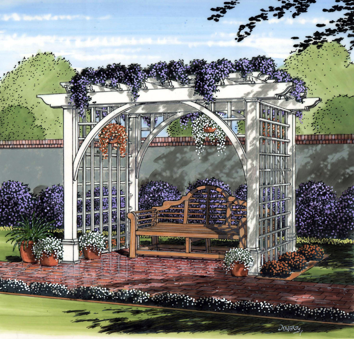 Tips for Creating a Garden Arbor