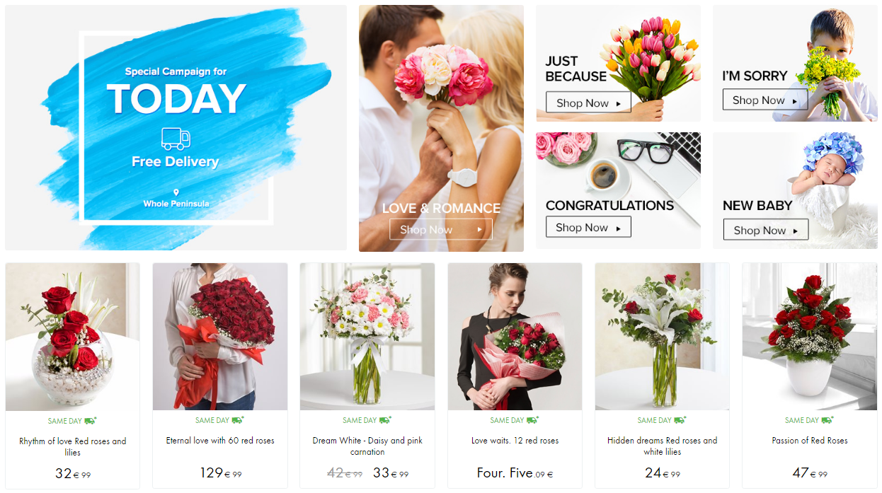 The Benefits of Online Flower Delivery Services