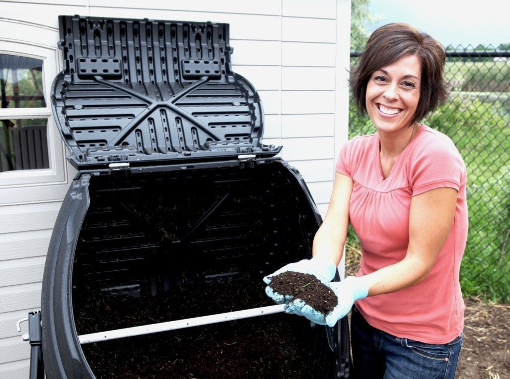Composting Made Easy with a Tumbler