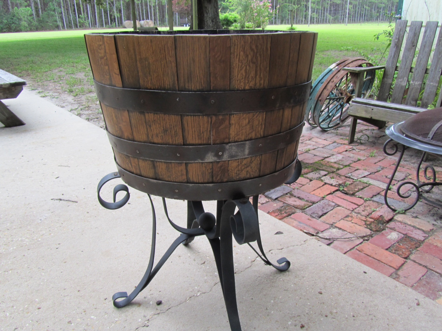 Whisky Barrel Furniture Is Rustic And Classy
